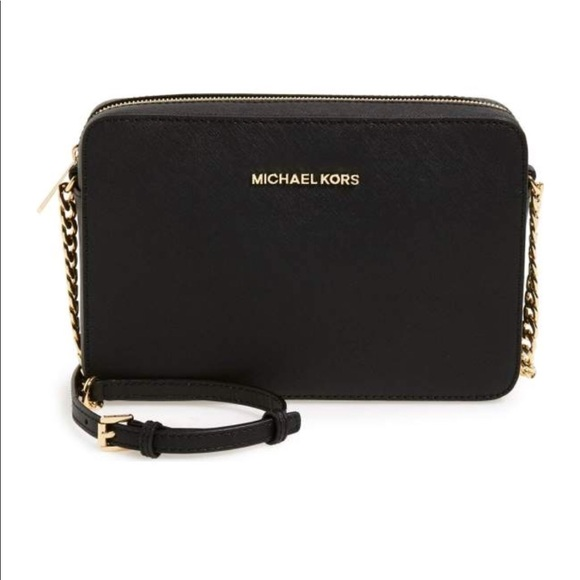 c32620b79f6e MICHAEL Michael Kors Bags | Jet Set Large Saffiano Leather Crossbody ...